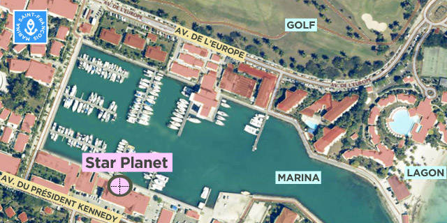 carte Star Planet