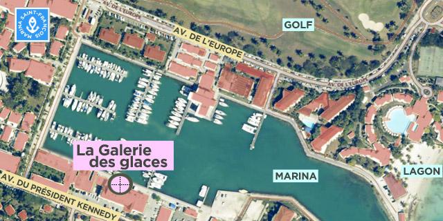 carte Galerie des glaces