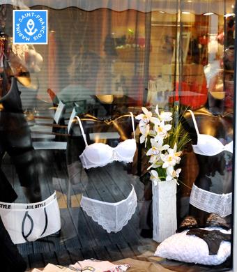 Vitrine boutique Lolita