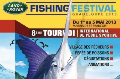 affiche Land Rover Fishing 2013
