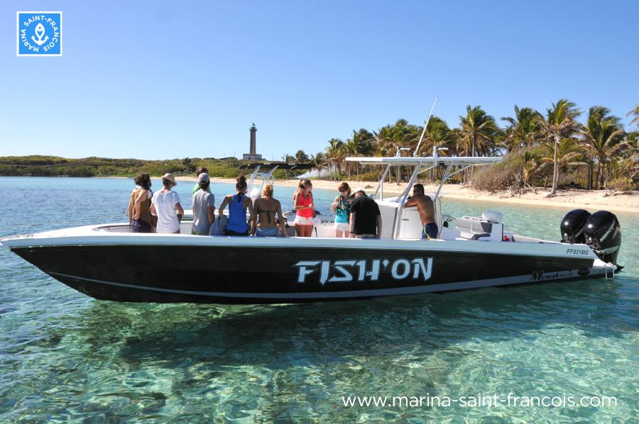 promenade bateau guadeloupe