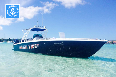 Bateau Miami Vice