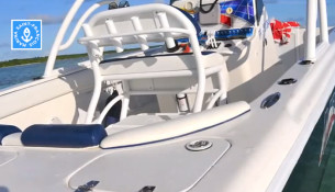 Intérieur bateau Miami-Vice