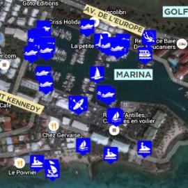 Carte des activités ICIGO
