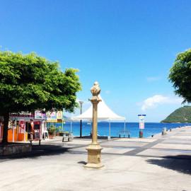 Terre-de-haut, Les saintes Guadeloupe