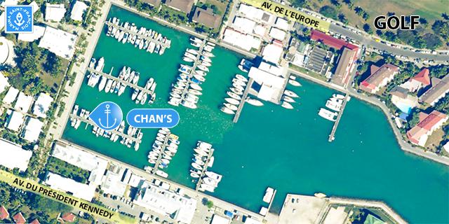 Carte bateau Chans