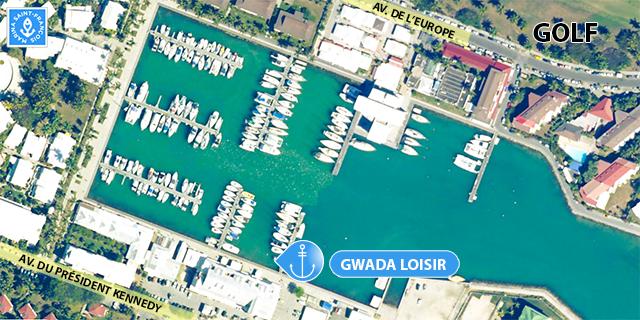 Carte bateau Gwada Loisir