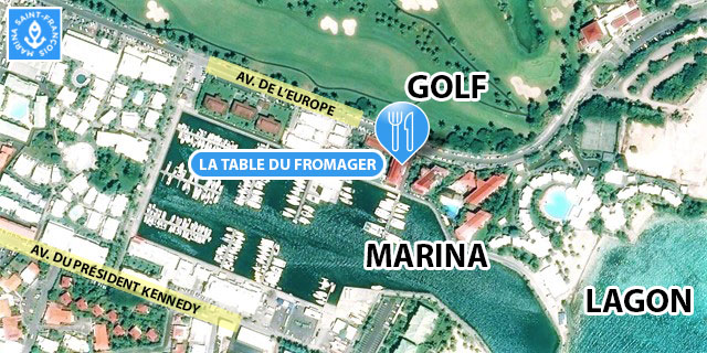 carte La Table du Fromager Marina Saint François